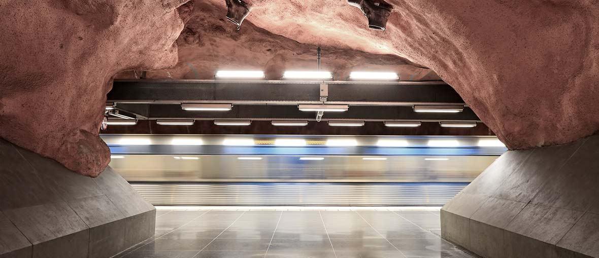 Tinnitus i olika miljöer - Tunnelbaneperrong