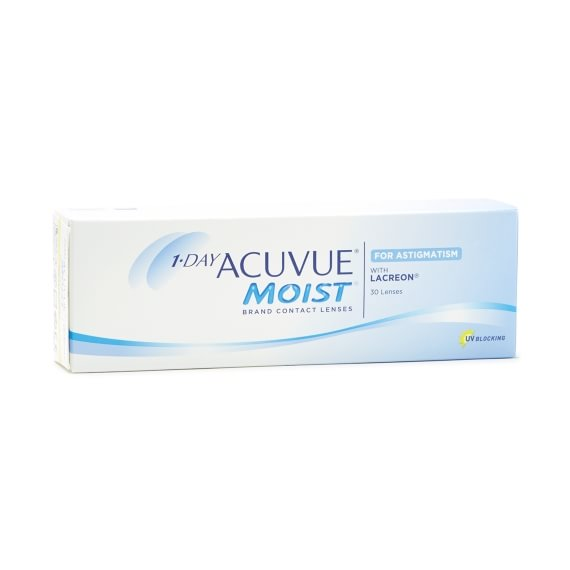 1-Day Acuvue Moist for Astigmatism 30 linser