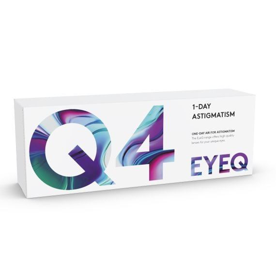 EyeQ One-Day Air For Astigmatism Q4 30/laatikko