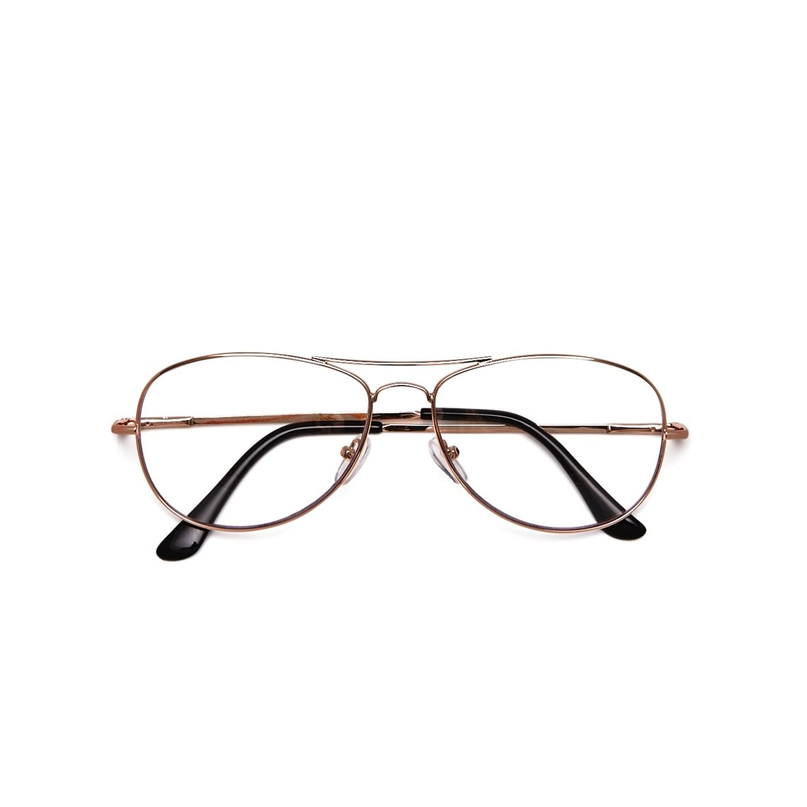 Readers Aviator Metal Gold