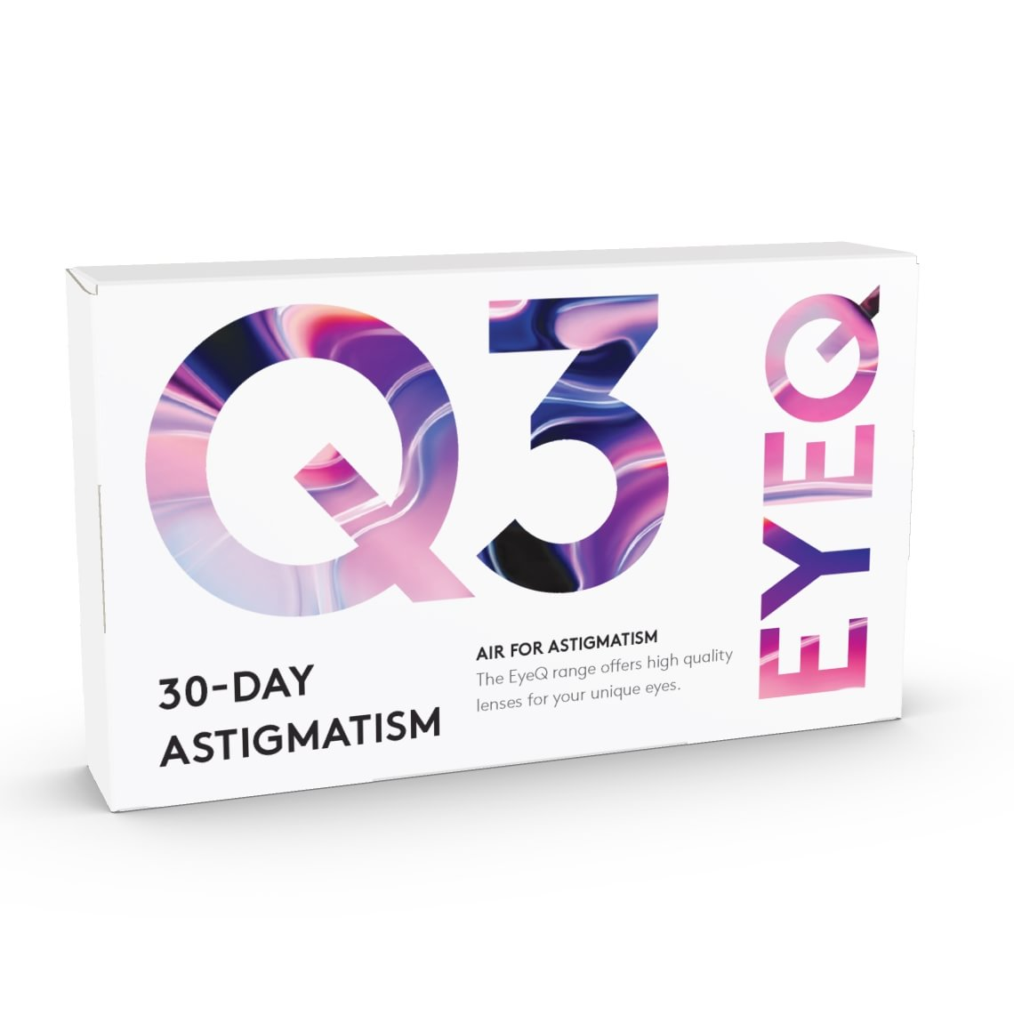 EyeQ Air For Astigmatism Q3 6 st/box