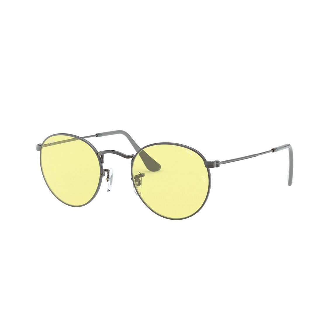 Ray-Ban Round metal RB3447 Solid Evolve 004/T4 5021