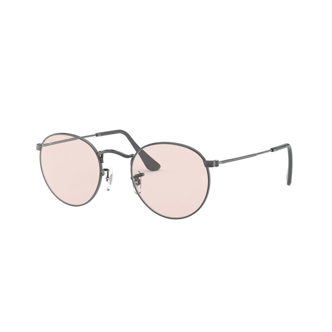 Ray-Ban Round metal RB3447 Solid Evolve 004/T5 5321