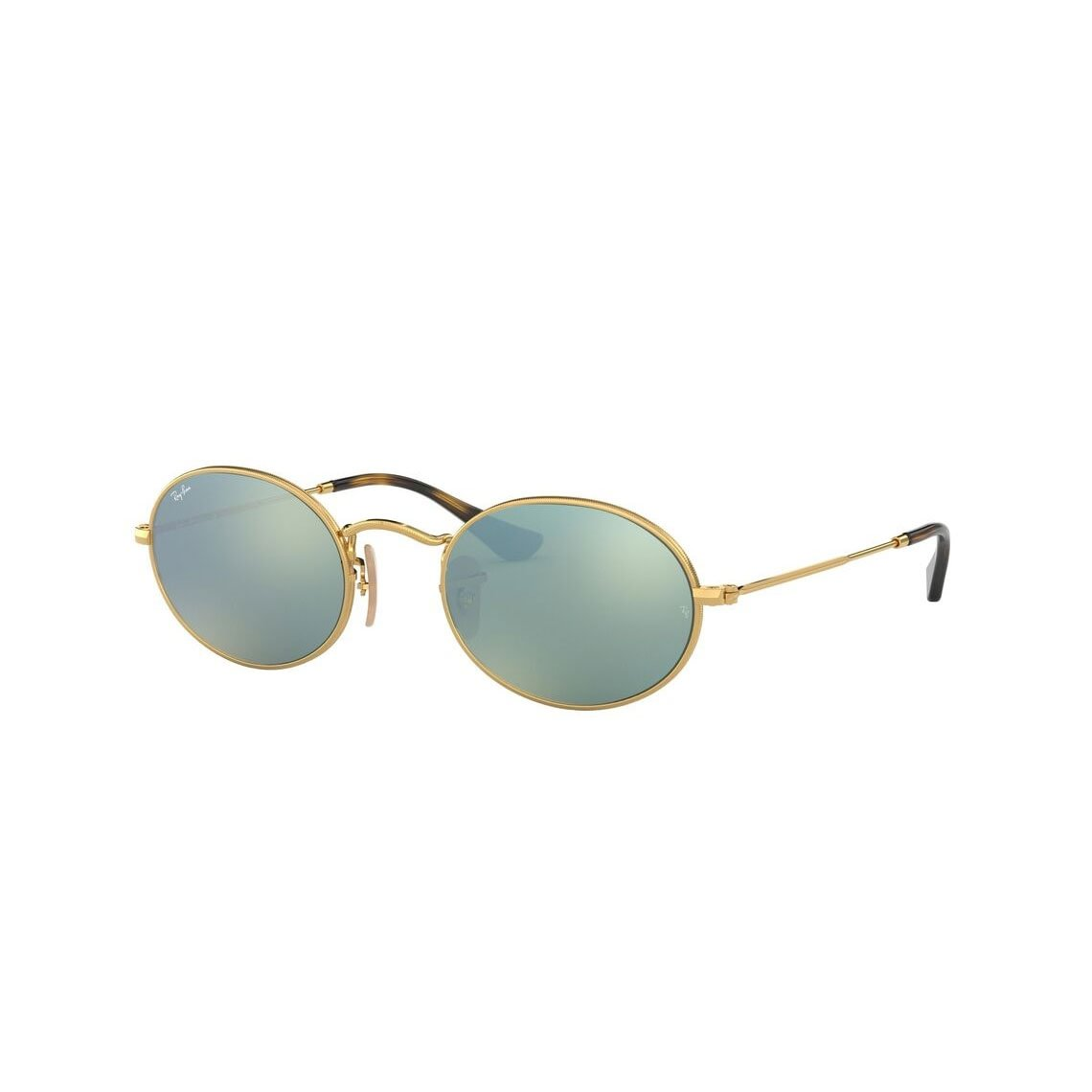 Ray-Ban Oval flat lenses RB3547N 001/30 51