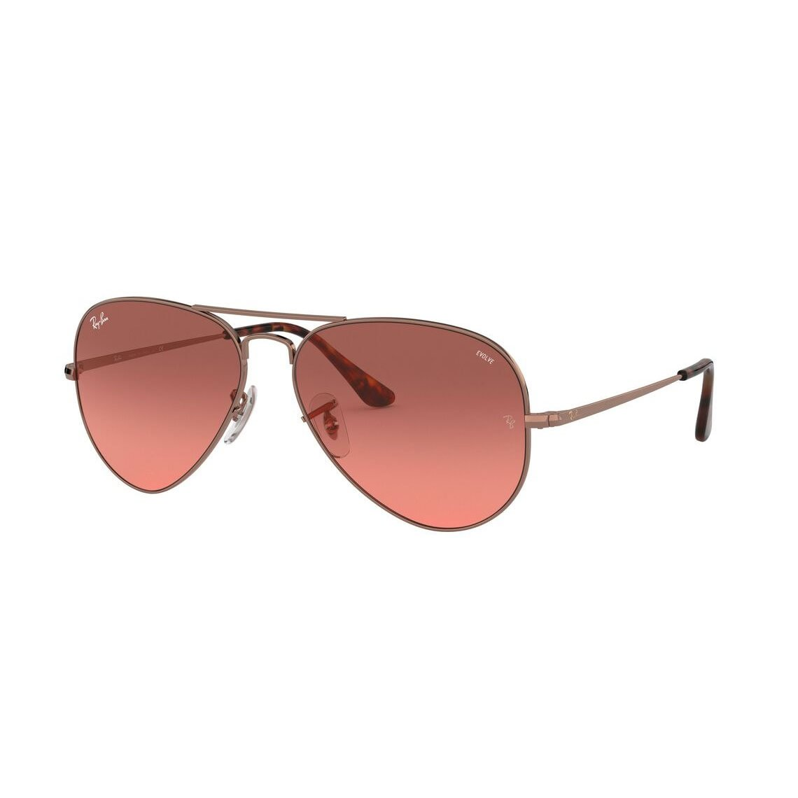 Ray-Ban Aviator Metal II RB3689 Washed Evolve 9151AA 5514