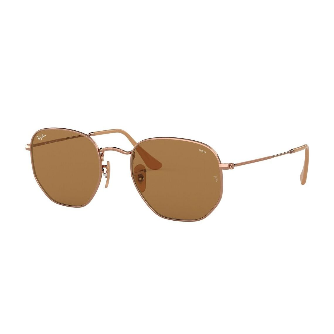 Ray-Ban Hexagonal Washed Evolve RB3548N 91314I 5121