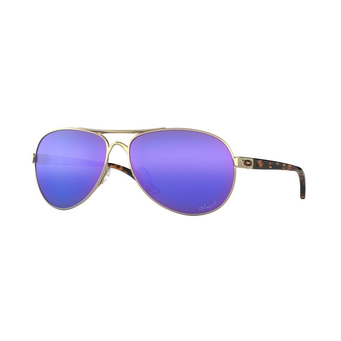 Oakley Feedback Violet Iridium Polarized OO4079-18