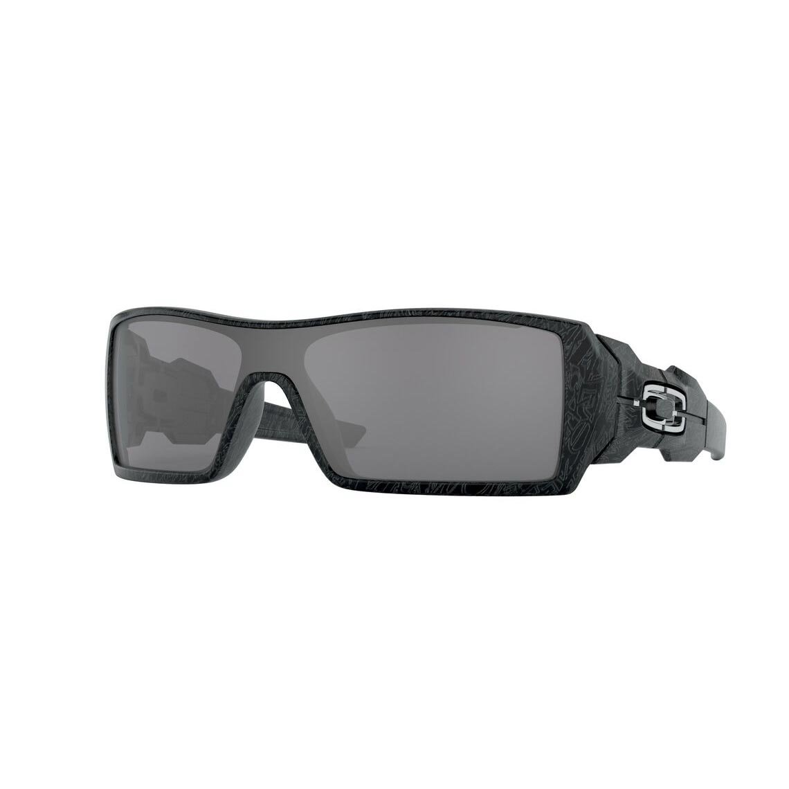 Oakley Oil Rig Black Iridium OO9081 24-058
