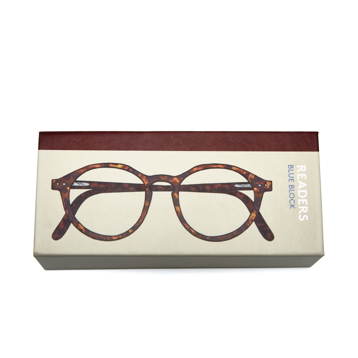 Readers Readers Blue Block Round Tortoise